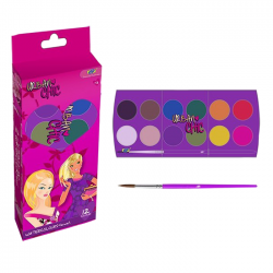 Acuarele 12 culori cu pensula DP Urban Chic DPC-14-6040