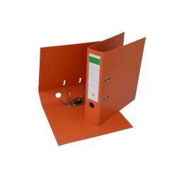 Biblioraft plastifiat PP/PP 8 cm portocaliu