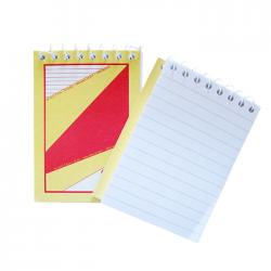 Bloc notes A7 cu spira GP 60 file linii