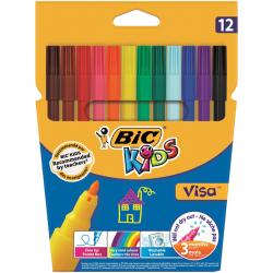 Carioca 12 culori Bic Kids Visa 2758