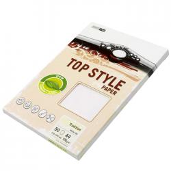Carton pentru carti de vizita A4 alb Topstyle 20 coli/set