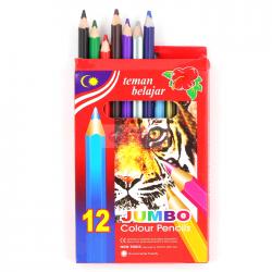 Creioane colorate 12 culori jumbo 600123,862130