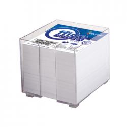 Cub notite alb cu suport Forpus 41701 800 file 9x9 cm
