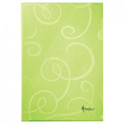 Folie de protectie L Forpus Barocco 21143, 180 microni, verde, 10 bucati/set