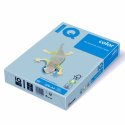 Hartie color A4 IQ 80 g/mp 500 coli/top albastru intens