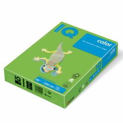 Hartie color A4 IQ 80 g/mp 500 coli/top verde intens