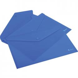 Mapa cu buton Forpus Premier 21616 albastra