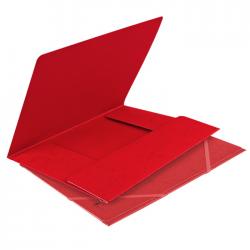 Mapa din carton cu elastic Forpus 21504 rosie