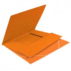 Mapa din carton cu elastic Forpus 21506 portocalie