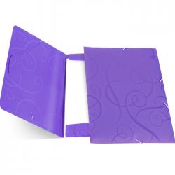 Mapa cu elastic Forpus Barocco 21431 violet