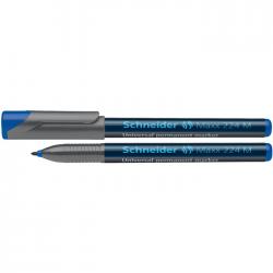 Marker permanent Schneider Maxx 224 M albastru 1.0 mm