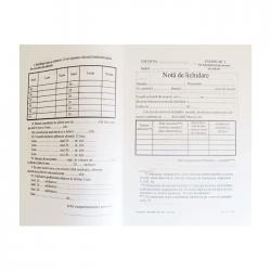 Nota de lichidare, format A5, orientare portret, 100 file