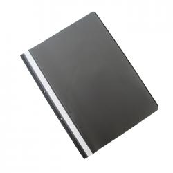 Dosar plastic cu sina si doua perforatii Office Products 21104211-05 negru