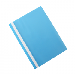 Dosar plastic cu sina si doua perforatii Office Products 21104211-21 bleu
