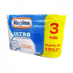Prosop hartie Regina Ultra 3 straturi, 3 role/set
