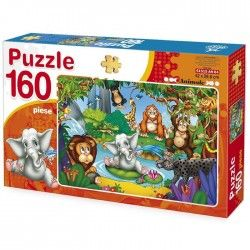 Puzzle 160 piese Animale