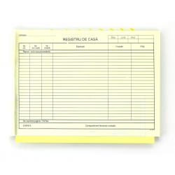 Registru de casa autocopiativ, format A4, orientare vedere, 100 file