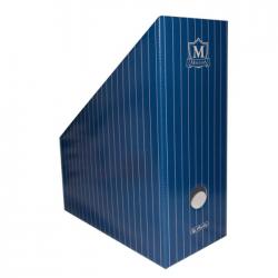 Suport dosar carton Montana albastru