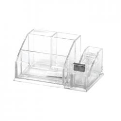 Suport pentru accesorii de birou Forpus 30515 transparent
