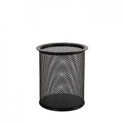 Suport pentru instrumente de scris metalic mesh Forpus 30541 negru