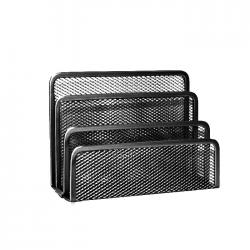 Suport pentru plicuri metalic mesh Forpus 30563 negru