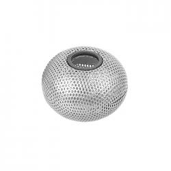 Suport magnetic pentru agrafe birou metalic mesh Forpus 30574 silver