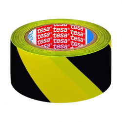 Banda adeziva marcare Tesa 60760 33mx50mm galben/negru