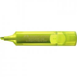 Textmarker Faber Castell superfluorescent 154607 galben